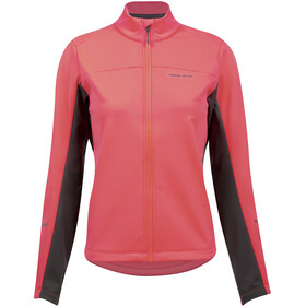 PEARL iZUMi Quest AmFIB Chaqueta Mujer, screaming red/phantom